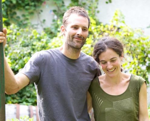 Fabian Brandenberger und Anita Triaca