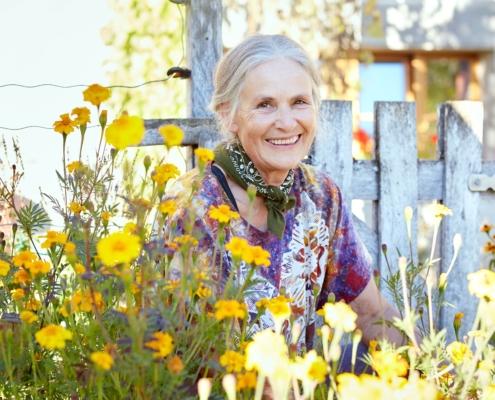 Claudia Capaul – seit über 30 Jahren leidenschafliche Bäuerin