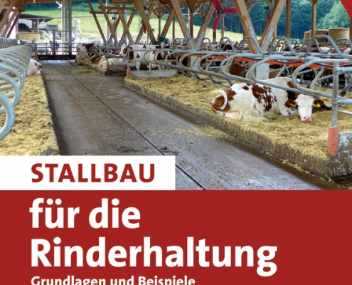 Umfassendes Grundlagenbuch für den Rinder-Stallbau mit allen wichtigen Aspekten und Planungsbeispielen.