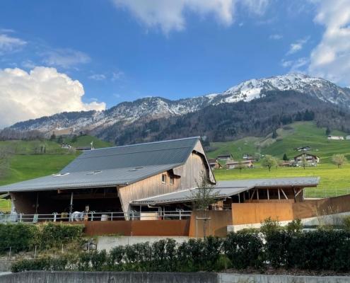 Auf dem Hof Windleten am Stanserhorn steht das Tierwohl im Zentrum. (Bild hofwindleten.ch)